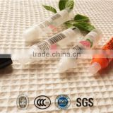 Lip balm mini empty lipstick tube for hotel and travel with OEM designs eco disposable