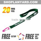 Polyester Material Fashionable Card Holder Lanyard