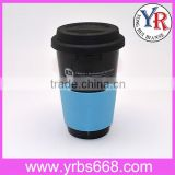 Starbucks Coffee Mug With Silicone Lid Silicone Sleeve Black Ceramic Custom Item