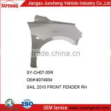 High Quality Auto Body Parts Chevrolet Sail 2010 Front Car Fender
