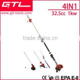 4 IN 1 multi-function garden Pole chain Saw, Edge trimmer, Hedge Trimmer and Brush Cutter                                                                         Quality Choice