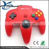 Red Joypad for Nintendo 64 N64 Game Controller