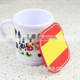 Factory Custom Made Soft PVC Drink Cup Coaster