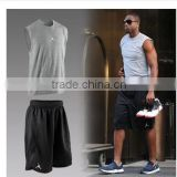 Basketball suit vest sleeveless vest loose suit male basketball game customized training
