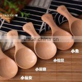 New style fashion wooden salt spoon