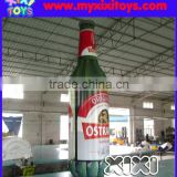 XIXI Customized inflatable champagne bottle,giant inflatable beer bottle