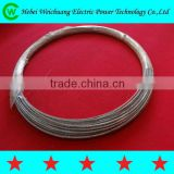 High quality Weichuang manufacturer stay wire / guy wire / galvanized steel wire / galvanized steel strand 7/4.0mm