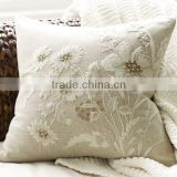 Luxury embroidery cushion cover ,Latest design pillow cover,handmade embroidery cushion cover