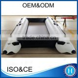 PVC/hypalon ocean speed boats rubber inflatable dinghy set with plywood transom/floor