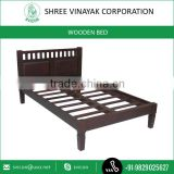Antique Solid Wood Single Wooden Bed Designs for Home Furniture Available at Competitive Price