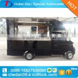 black color Popular Multi-function Mini Food Truck / Fast Food Cart / Hot Dog Vending Van