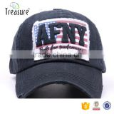 Professional china supplier badge embroidery logo curve brim baseball cap and hat