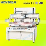 semi-auto tin plate screen printing machine with vacuum station