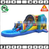Giant Commercial Party Used Inflatable Water Slide Combo with Swimming pool for Adults and Kids