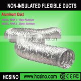 Air conditioning/HVAC System non-insulated flexible duct