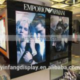 luxury brand retail clothing store display furniture design