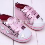 pink baby shoes prewalker shoes cute baby shoes