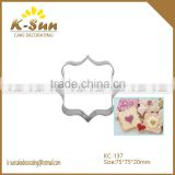 K-sun Christmas holiday stainless steel cookie cutter, biscuit cutter, mousse cutter photo frame reposteria                                                                         Quality Choice