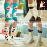 Children cotton socks goods new cartoon letters multi pattern socks fashion senior kids socks factory wholesale