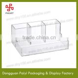 Customized pen table top stand clear acrylic box