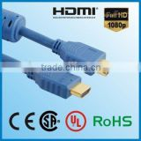 Alibaba express in electronics gold plated 1080p awm 20276 24awg hdmi to hdmi cable 20m 15m 10m 1.4V.