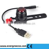 Hot selling Bicycle Light USB Rechargeable bike led rear light