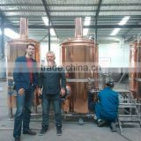 Micro brewing equipment craft beer brewery equipment 1000l/2000L/3000L/5000L factory beer brewing line