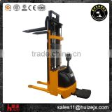 Factory 1Ton Battery Operated Electric Lift Stacker 4.5M