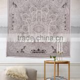 Hamsa Hand Tapestry Hand of Fatma Islamic Wall Art Wholesale Printed Indian Tapestries Hippie Throw
