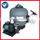 swimming pool aqua sand filter with 6-Way Multi-port Valve
