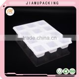 wholesale plastic PET storage packaging tray for chocolate or ice cream