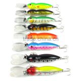 Fishing Lures 13cm/16.16g Minnow fishing bait fishing tackle 4# high carbon steel anchor hook