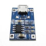 Micro USB 5V 1A 18650 TP4056 Lithium Battery Charger Module Charging Board With Protection Dual Functions