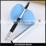 Retractable eyelash brush/mini travel mascara brush/retractable mascara brush