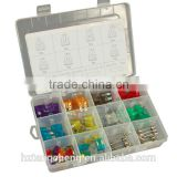 automotive fuse types TC CE Certification 100pc Assortment kit automotive fuse types