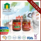 Hot sale virtnam healthy cooking sauce chili sauce & black bean sauce for Chinese Stye Food
