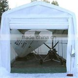 waterproof steel frame boat cover /RV boat Shed