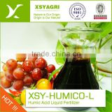 Hight Water Solublity humic acid fertilizer for water flush foliar Drip Irrigation fertigation applicatiomin