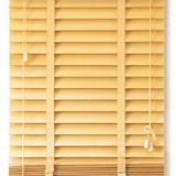 Basswood Venetian Blinds, Wooden Horizontal Blinds for Home Decor
