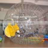 inflatable water ball,cheap water ball with tizip zipper,inflatable walking on water balls,