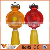 Wholesale high quality led traffic barricade solar road construction warning light