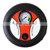 American Market hot sale Tire round shape small Digital tire inflator Portable inflator New