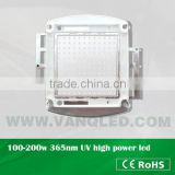 InGaN high power UV 200w-500w (Professional Manufacture) uv leds 365-430nm for curing,CE RoHS approved