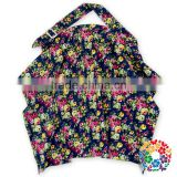 Size 60*80CM Baby Mum Breastfeeding Nursing Poncho Cover Up Udder Blanket Shawl Black Floral