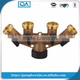 "Professional brass hose 3/4"" 5 way valve manifold"