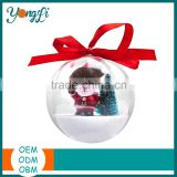 Wholesale Clear Plastic Bauble Ball Christmas Tree Decoration