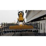 HEPMSP series electro permanent lifting magnet for lifting single round steel and steel pipe