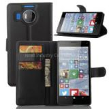 Leather case for nokia n950 xl Lumia 950 xl with card slot with holder with wallet