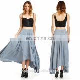 China Guangdong OEM Wholesale Fashion girls birthday dresses sleeveless latest gown designs skirt dress formal evening dress