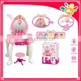 Toys 2016 play set make up beauty set dressing table magic mirror